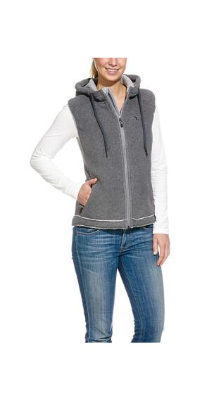 Tatonka Helston Vest Women pebble grey